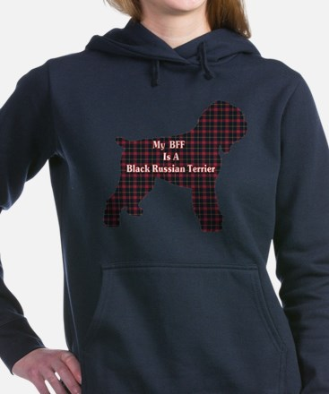 BFF Black Russian Terrier Hooded Sweatshirt