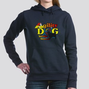 Australian Shepherd Agil Women's Hooded Sweatshirt