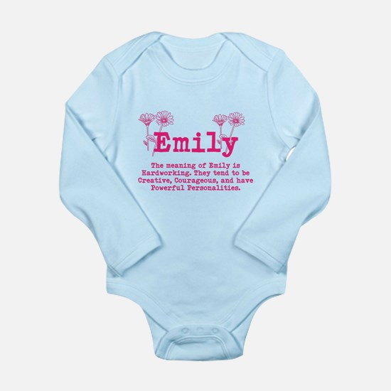 The Meaning of Emily Body Suit