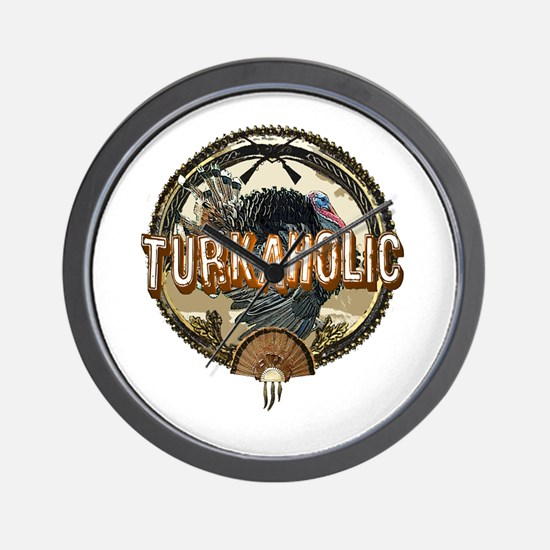 Turkaholic Wall Clock