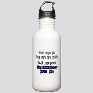 Bad Drivers (Blue) Stainless Water Bottle 1.0L