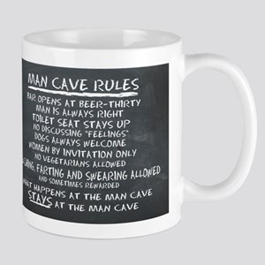 Man Cave Rules Mugs