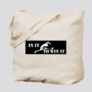 In It To Win It Track and Field Tote Bag