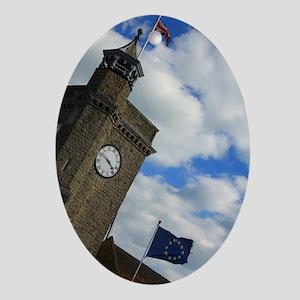 England Oval Ornament