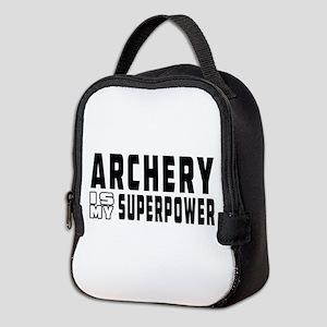 Archery Is My Superpower Neoprene Lunch Bag