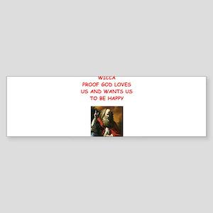 wicca Bumper Sticker