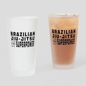 Brazilian Jiu-Jitsu Is My Superpower Drinking Glas