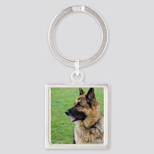 German Shepherd Profile Keychains