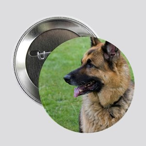 "German Shepherd Profile 2.25"" Button"