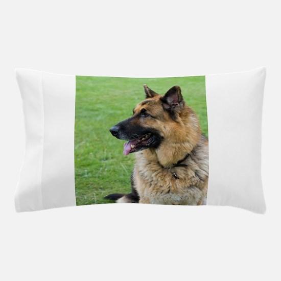German Shepherd Profile Pillow Case