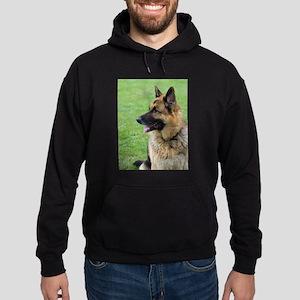 German Shepherd Profile Hoodie