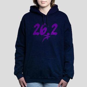 Purple 26.2 marathon Hooded Sweatshirt