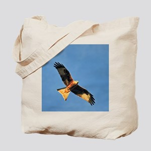 Flying Red Kite Tote Bag