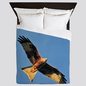 Flying Red Kite Queen Duvet