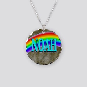 Noah Necklace Circle Charm