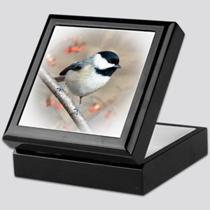 Carolina Chickadee Keepsake Box