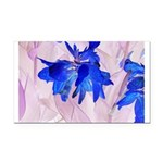 Fairy flowers Rectangle Car Magnet