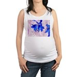 Fairy flowers Maternity Tank Top