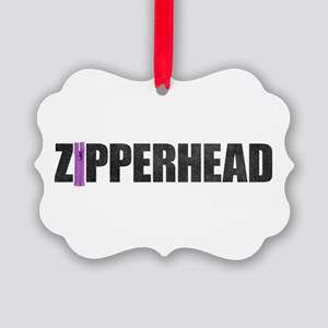 Zipperhead Picture Ornament