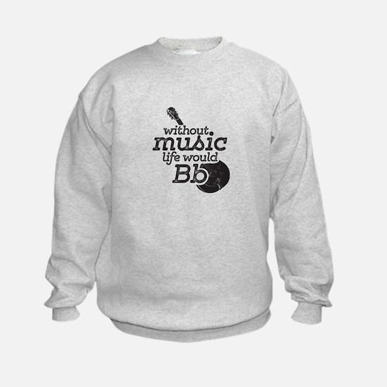 Be Flat Sweatshirt