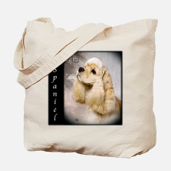 Cocker Spaniel-Buff Tote Bag