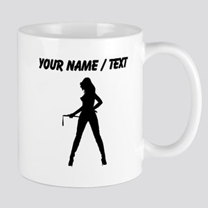 Custom Dominatrix Silhouette Mugs