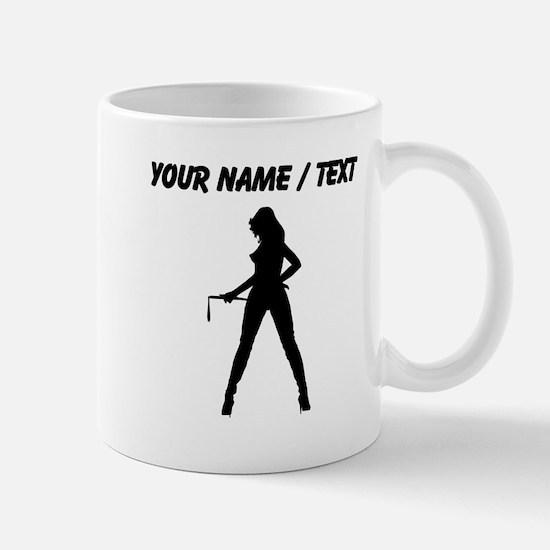 Custom Dominatrix Silhouette Mugs