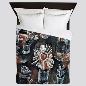 Klee - Still Life with Thistle Bloom,  Queen Duvet