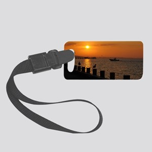 Morning Catch Small Luggage Tag