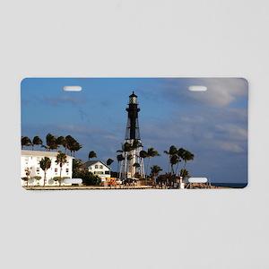 Hillsboro Lighthouse Aluminum License Plate