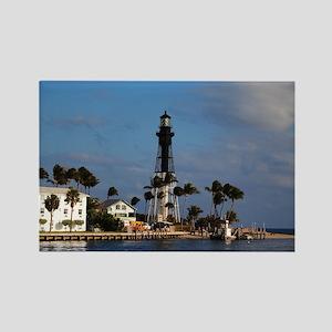 Hillsboro Lighthouse Rectangle Magnet