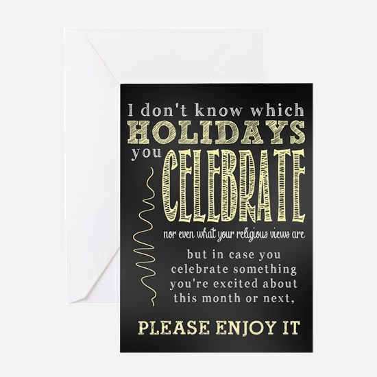 Happy Holidays All-Purpose Greeting Card