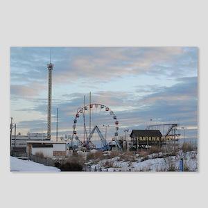 Fun Town Pier Seaside Par Postcards (Package of 8)