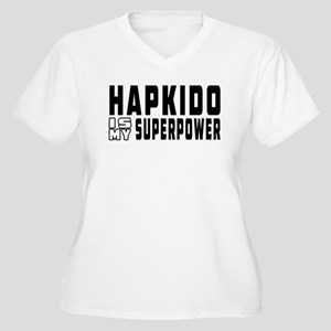 Hapkido Is My Superpower Women's Plus Size V-Neck