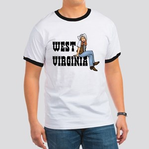 WV Cowgirl Ringer T