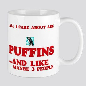 All I care about are Puffins Mugs