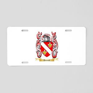 Dennett Aluminum License Plate
