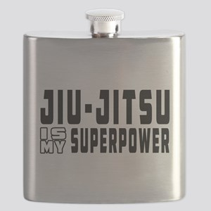 jiu Jitsu Is My Superpower Flask