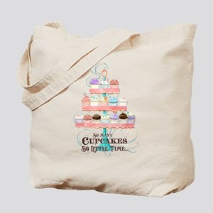 So Many Cupcakes So Little Time Cake Stand Tote Ba