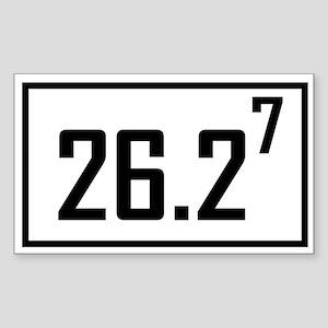 Marathon 7 Rectangle Sticker