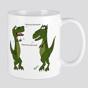 T-Rex I love you this much Mugs