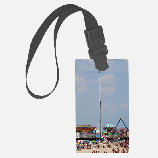 Seaside Heights Casino Pier  Luggage Tag
