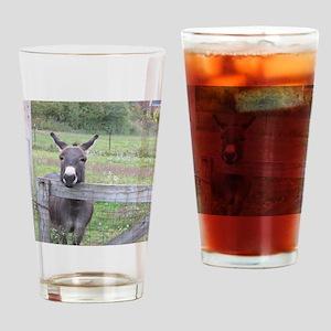 Miniature Donkey II Drinking Glass