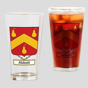 Abbott Family Crest Drinking Glass