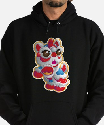 Cute Lion Dancer Hoodie