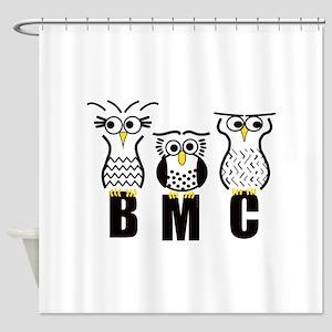 BMC Owls Shower Curtain