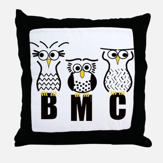 BMC Owls Throw Pillow