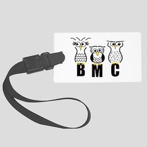 BMC Owls Large Luggage Tag