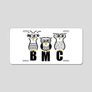 BMC Owls Aluminum License Plate