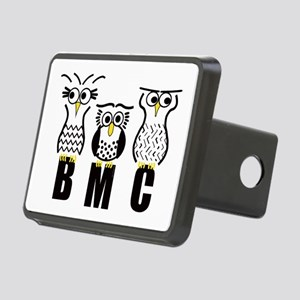 BMC Owls Rectangular Hitch Cover